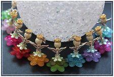 10  Engel Blumenfee Glücksbringer Gastgeschenk Hochzeit Taufe