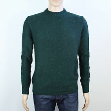 River Island mens Size S green knit pullover jumper