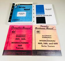 INTERNATIONAL FARMALL 560 660 TRACTOR SERVICE OPERATOR PARTS PREVENTIVE MANUAL