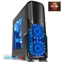 FAST Quad Core 8GB 1TB Desktop Gaming PC Computer RX VEGA Graphics dp079