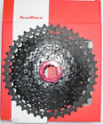 SunRace - Cassetta SunRace/Sun Race MX3 11-42T Nera-Rossa/Black red 10v/s b -NEW