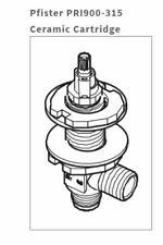 PRICE PFISTER 900-315 LARGER VERVE CERAMIC DISC VALVE STEM - FREE SHIPPING