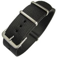 18mm - 20mm - 22mm Nato Strap Correa Reloj Nylon Pulsera Watch band
