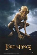 Lord Of The Rings Movie Poster ~ Two Towers Gollum Evil 27x39 Smeagol