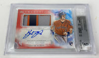 2019 Topps Inception Kyle Tucker Red Auto 3 Color Relic /25 SSP BGS 9 Mint 10 RC