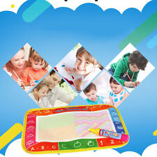 Baby Kids Doodle Painting Picture Water Drawing Play Mat With Pen 25*16.5 cm GA