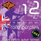 ROTOSOUND R12 PURPLES MEDIUM HEAVY ELECTRIC GUITAR STRINGS 12-52  for sale