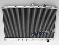fit for Mitsubishi Lancer Evolution EVO 1 2 3 I II III 2 ROW Aluminum Radiator