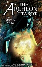 Archeon Tarot NEW Sealed 78 Color Card Deck Myth Mysticism Timothy Lantz Art
