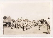 US Army on Drill  Melbourne Australia 1942