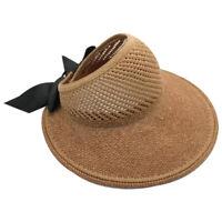 Cappello da Sole Protezione UV Femminile Cappello da Spiaggia Estivo Cappel X1P6