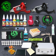 Professional Tattoo Rotary Kit Tattoo Motor Machine Set Gun Immoral Tattoo Inks