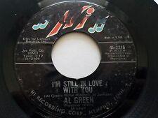 "AL GREEN - I'm Still In Love With You / Old Time Lovin' 1972 Hi Records SOUL 7"""