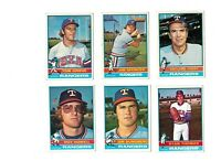 1976 Topps Baseball - 26-card Texas Rangers lot - Set Break!