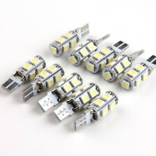 10pcs T10 5050 9SMD LED Car Auto License Plate Map Dome Lamp Light Bulb White