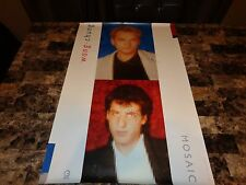 Wang Chung Authentic Signed Promo Poster Jack Hues Nick Feldman + Candid Photos