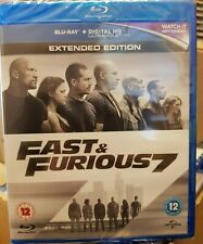 Fast & Furious 7     Extended Edition    Blu-Ray   Brand new and sealed