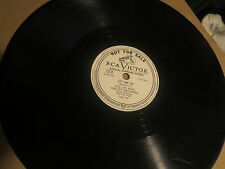 78RPM RCA Victor DJ Oran Hot Lips Page, Let Me In / That's the 1 for Me sharp E