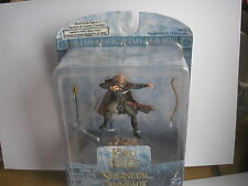 LOTR Armies of Middle Earth ultra rare Legolas dans Helms Deep Armour avec nœud