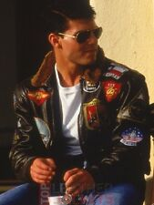 TOP GUN TOM CRUISE LEATHER JACKET For Halloween