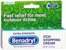Benadryl Itch Stopping Cream Extra Strength 1 oz (Pack of 2)