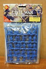 BILLY V  1/72  FIGURES AMERICAN CIVIL WAR UNION & CONFEDERATE INFANTRY