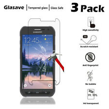 [3-Pack] Tempered Glass Screen Protector Saver For Samsung Galaxy S6 Active G890