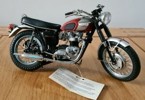 Franklin Mint 1/10th Scale Triumph Bonneville *UNBOXED*