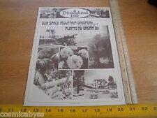 Disneyland Line May 19, 1977 Employees Disney Magazine Space Mountain plants