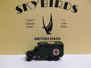 Skybirds Models. Fordson Wot  Mobile Dentist Lorry.