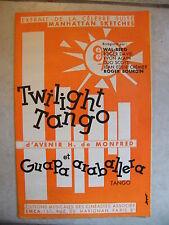 Partition Twilight Tango Guapa and araballera H of Monfred