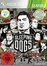 Xbox 360 Game Sleeping Dogs NEW