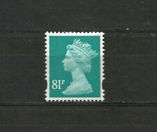 Great Britain Machin 81p OFNP PVA 2B De La Rue SG Y1739 MNH