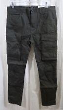 Italy Morn Chino Cargo Jogger Pants Casual Twill Khakis Size Medium MSRP $129