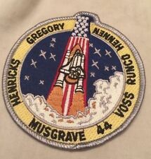 SPACE SHUTTLE STS-44 MISSION NASA PATCH ASTRONAUT HENDRICKS VOSS MUSGRAVE