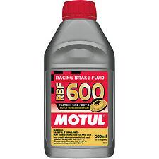 Motul RBF 600 Factory Line 100% Synthetic DOT 4 Racing Brake Fluid 500mL