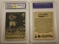 MUHAMMAD ALI 2009 Laser Line Gold Card * GEM MINT 10 * Limited Edition *LICENSED