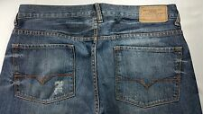 GUESS DEAN ZIP FLY RELAXED FIT STRAIGHT LEG MEN'S JEANS SIZE 34 X 33