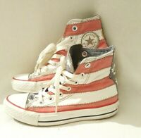 Converse Chuck Taylor Old Glory High Top Sneaker Size 3  (Unisex) Good Condition