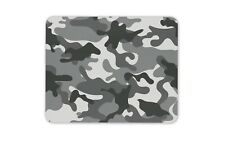 Grey Camouflage Camo Mouse Mat Pad - Army RAF Navy Teenager Gift Computer #13120