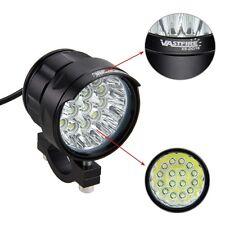 80W 16xXML T6 LED Motorrad Lampe Licht Zusatzscheinwerfer Fernlicht Scheinwerfer
