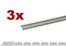 OO gauge flexible wooden sleeper track (nickel silver rail) Peco SL-100 - 914mm