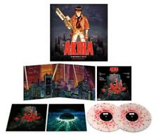 CLEAR W/ RED SPLATTER VINYL Akira 2-LP Soundtrack Geinoh Yamashirogumi NEW Anime