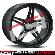 """20"""" INCH SSW GENISIS WHEELS 20X8.5 20X10 STAGGERED 5X120 5X114.3 FORD HOLDEN HSV"""