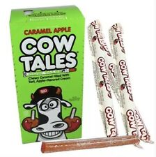Cowtales Cow Tales Caramel Apple Chewy Candy Cowtails Bulk 36 Count Box Bulk