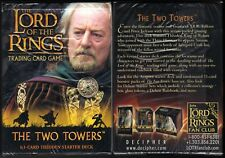 LOTR TCG Theoden Starter Deck Sealed The Two Towers 63 card Lord of the Rings