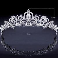 Bridal Bridesmaid Wedding Prom Crystal Rhinestone Diaman Crown Tiara Gifts fast