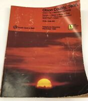 Vintage 1980 Union City Tenn Dyer Hornbeak Troy Telephone Directory Phone book