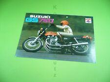 406ka2 prospectus, brochure: Suzuki gs750 moto avec DOHC, 70er Ans