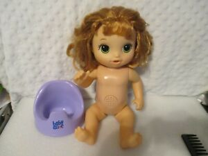 Baby Alive Potty Dance Doll w/Potty Seat Red Hair 2017 Hasbro